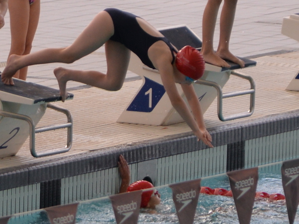 CSEN Swimming Success